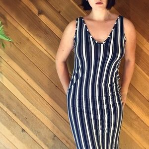 Classic Striped Dress from ASOS